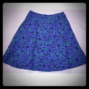 Lane Bryant modernist collection floral skirt. 16